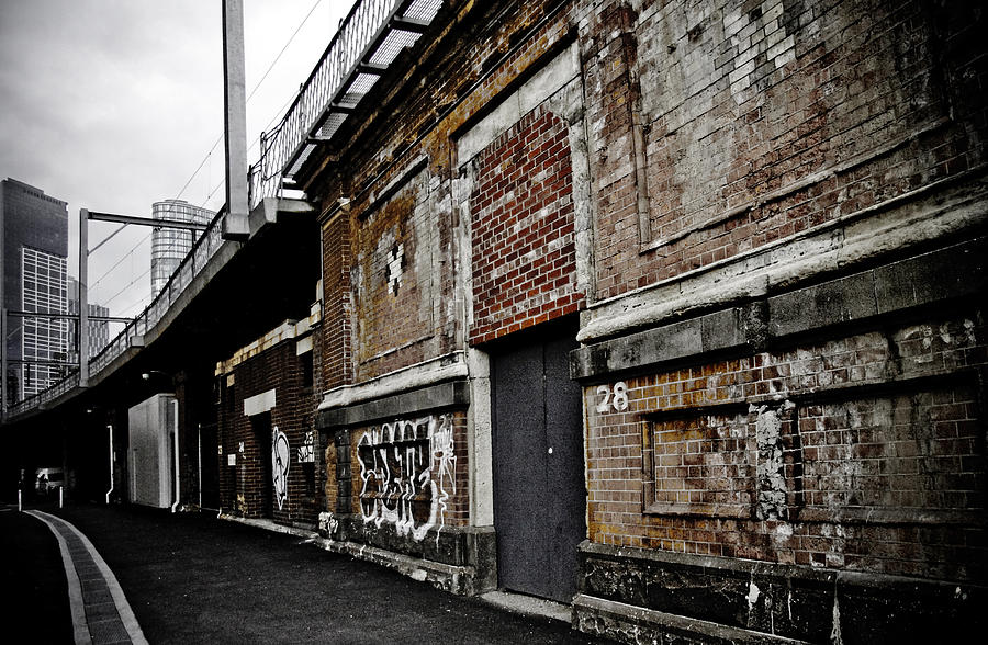 Melbourne Alley Photograph  - Melbourne Alley Fine Art Print