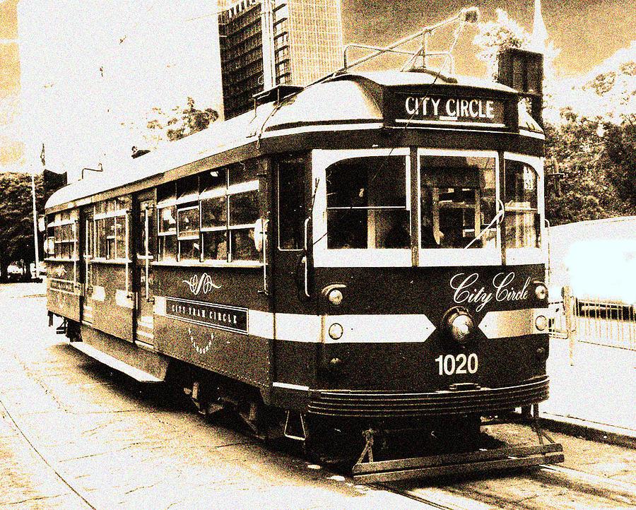 Melbourne Tram Photograph