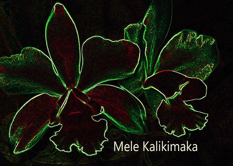 Mele Kalikimaka - Merry Christmas From Hawaii Digital Art