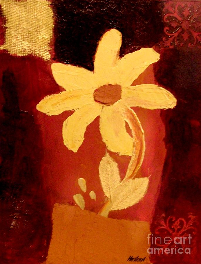Mellow Yellow Painting  - Mellow Yellow Fine Art Print