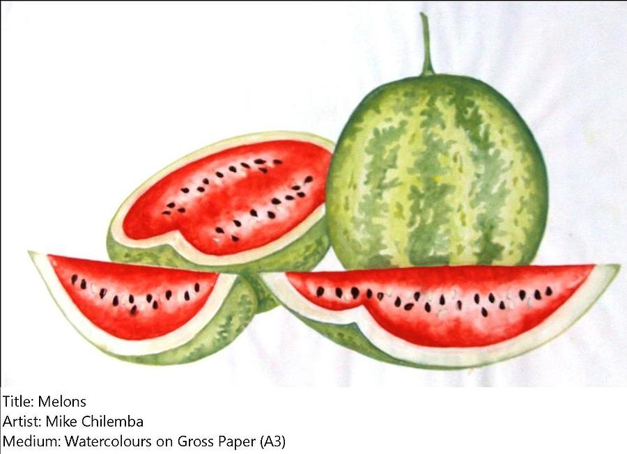 Melons Painting