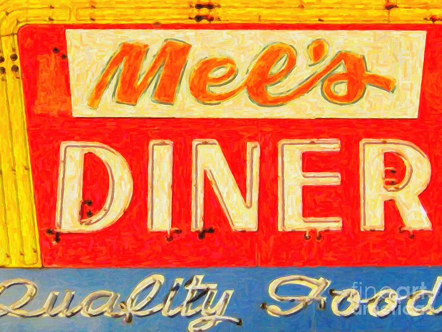 Mels Diner Photograph
