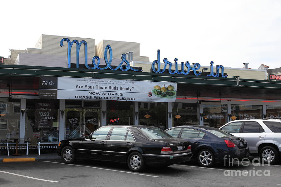 Mels Drive-in Diner In San Francisco - 5d18012 Photograph