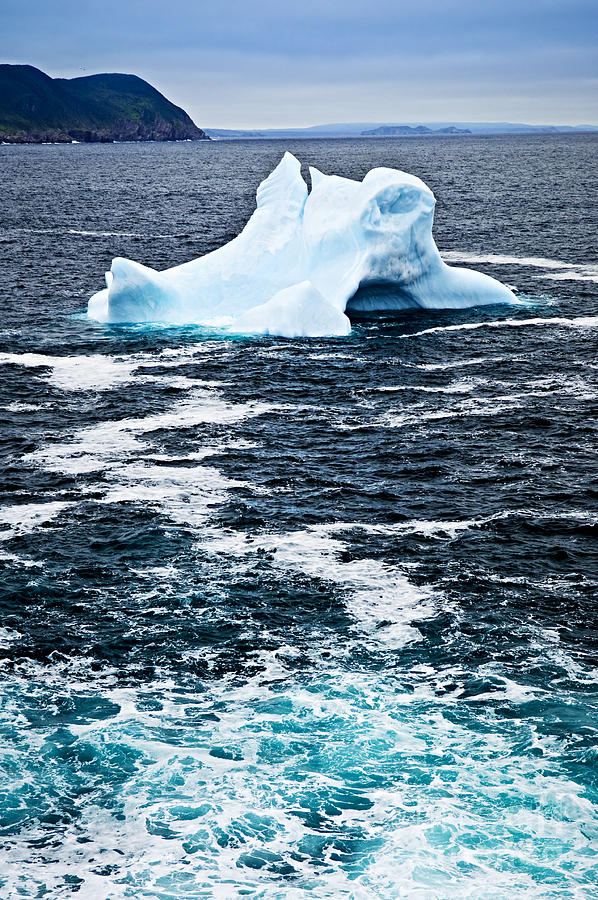 Melting Iceberg Photograph  - Melting Iceberg Fine Art Print