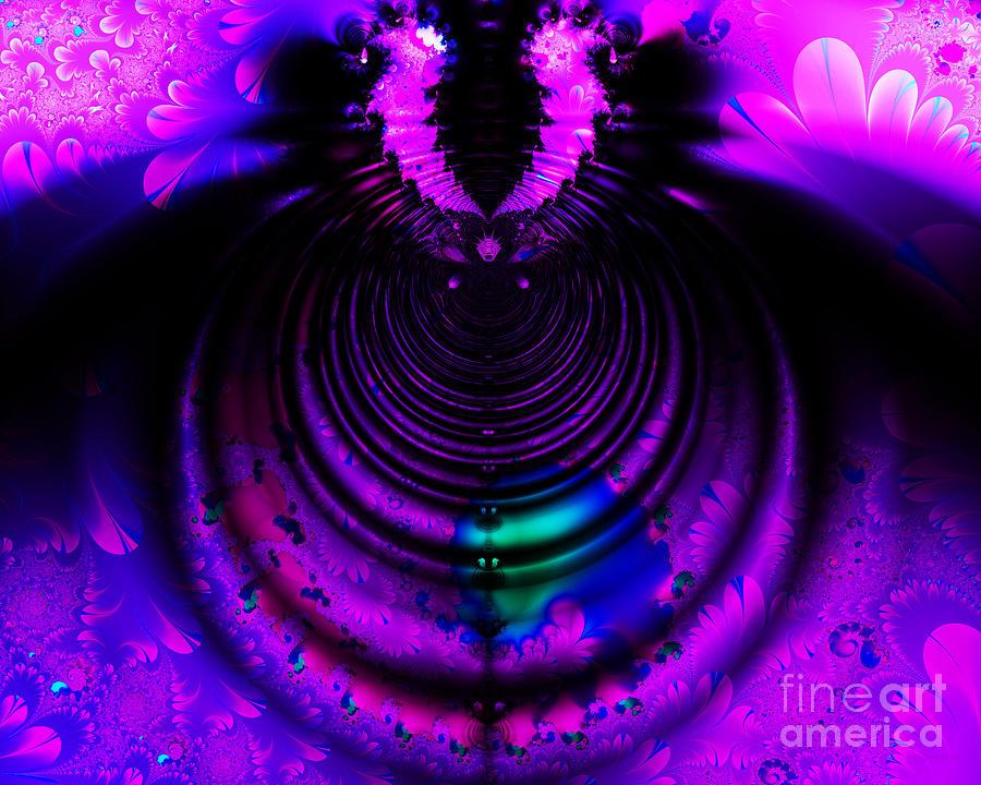 Melting Pot . Horizontal Cut . S8a.s11 Digital Art