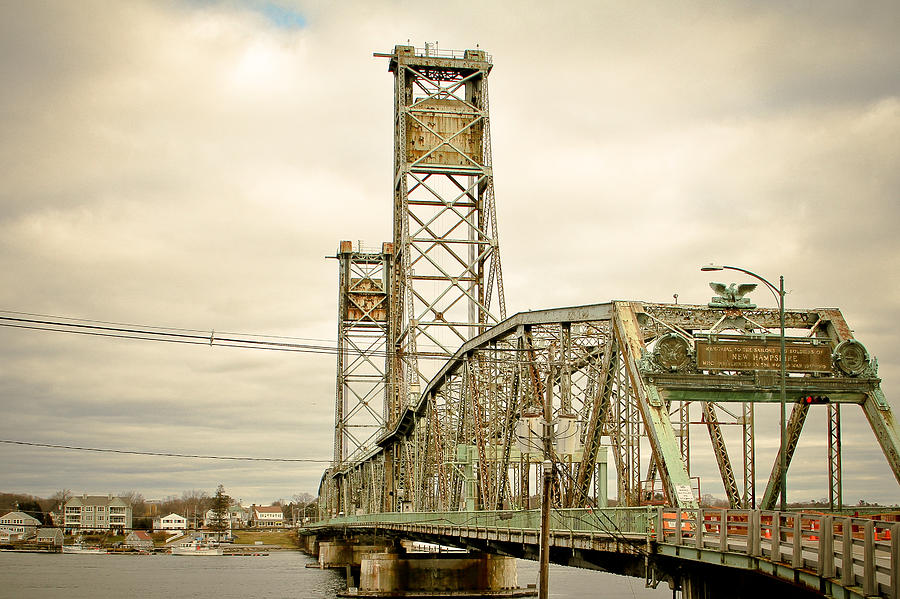 Memorial Bridge Portsmouth Nh Photograph