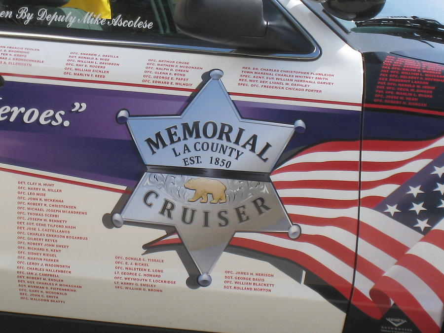 Memorial Crusier L A Photograph