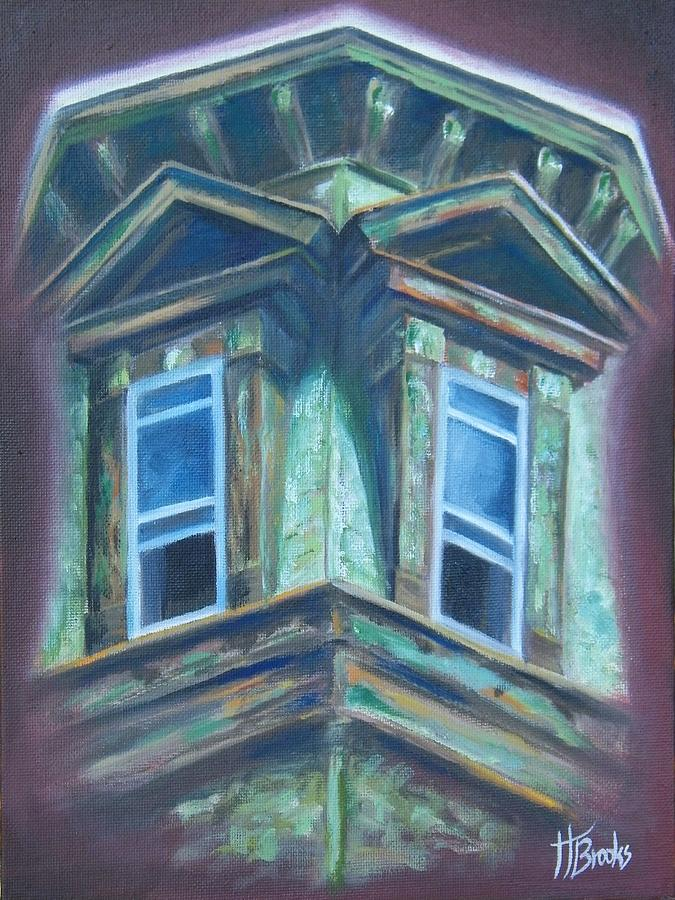 Window Painting - Memories by Tersia Brooks