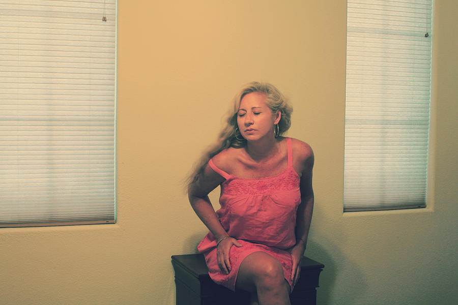 Woman Photograph - Memory Takes Over by Laurie Search