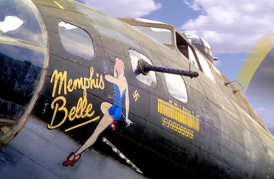 Memphis Belle Noce Art B - 17 Photograph