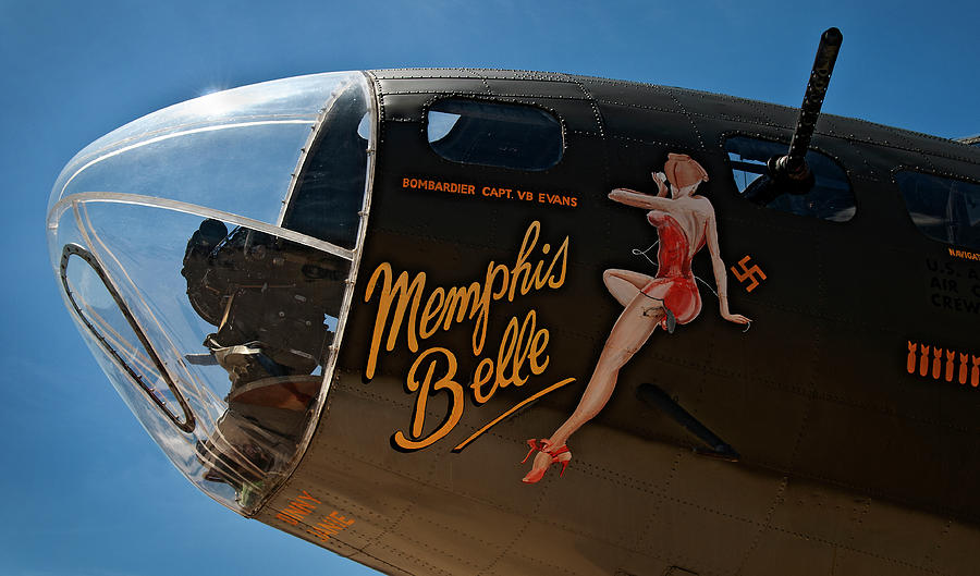 Memphis Belle Nose Art Photograph