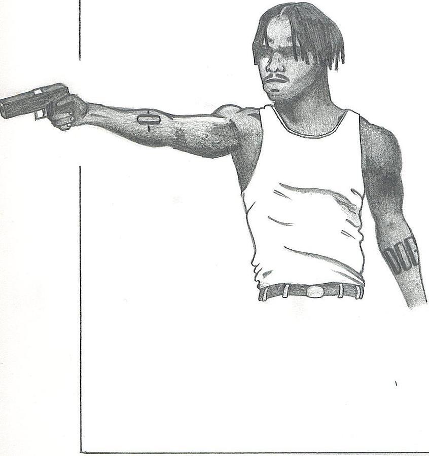 Gangster  Drawings - M...