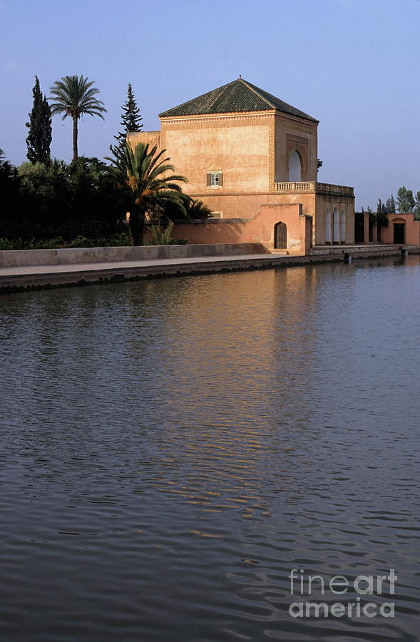 Menara Pavilion In Marrakech Photograph