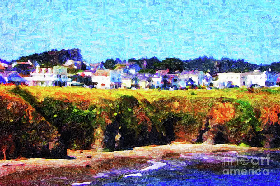 Mendocino Bluffs Photograph  - Mendocino Bluffs Fine Art Print
