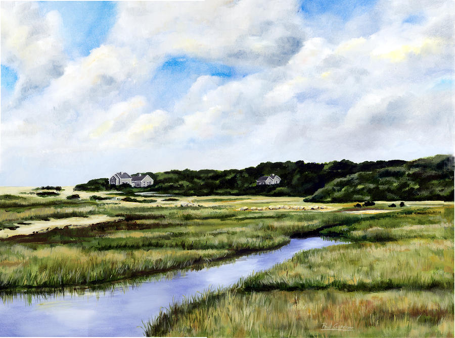 Menemsha Marsh Painting