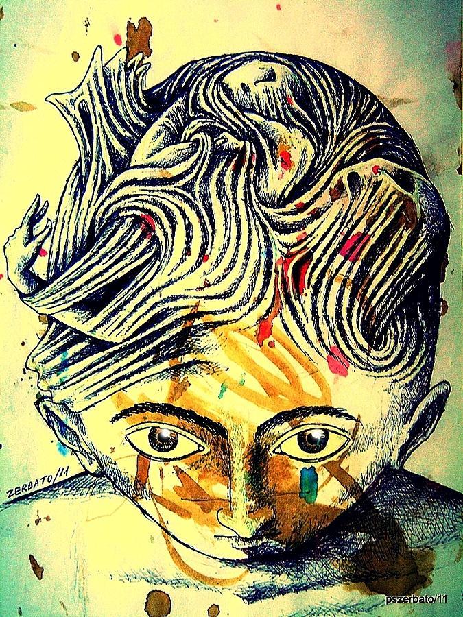 Mental Agitation Digital Art