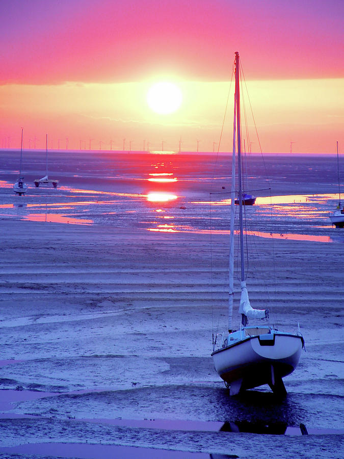 Meols Beach On The Wirral Photograph  - Meols Beach On The Wirral Fine Art Print