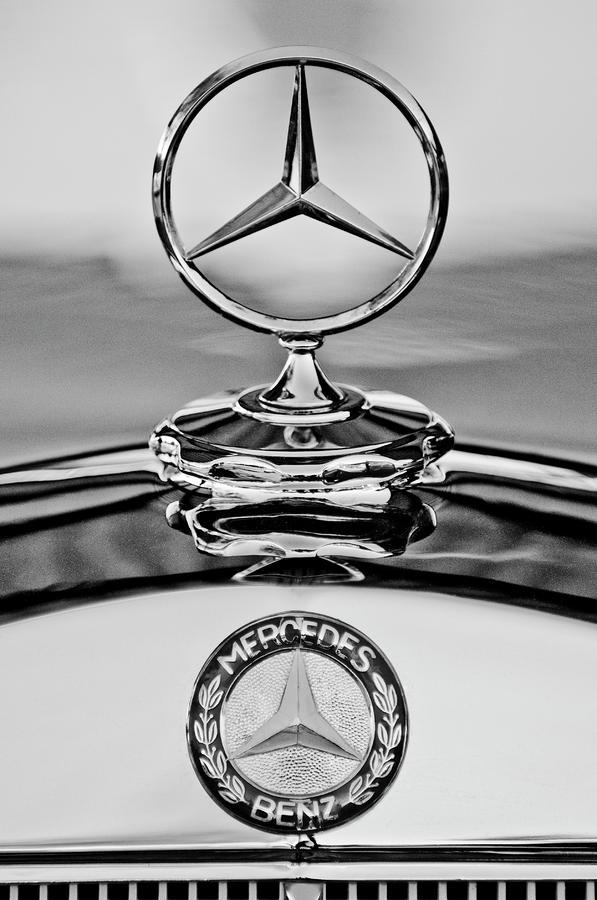 Mercedes Benz Hood Ornament 2 Photograph