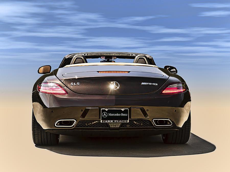 Mercedes Sls Amg Convertible Digital ArtMercedes Sls Amg Convertible