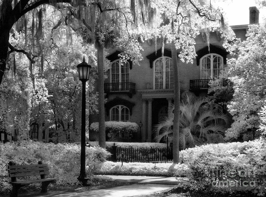 Mercer Williams House Photograph  - Mercer Williams House Fine Art Print