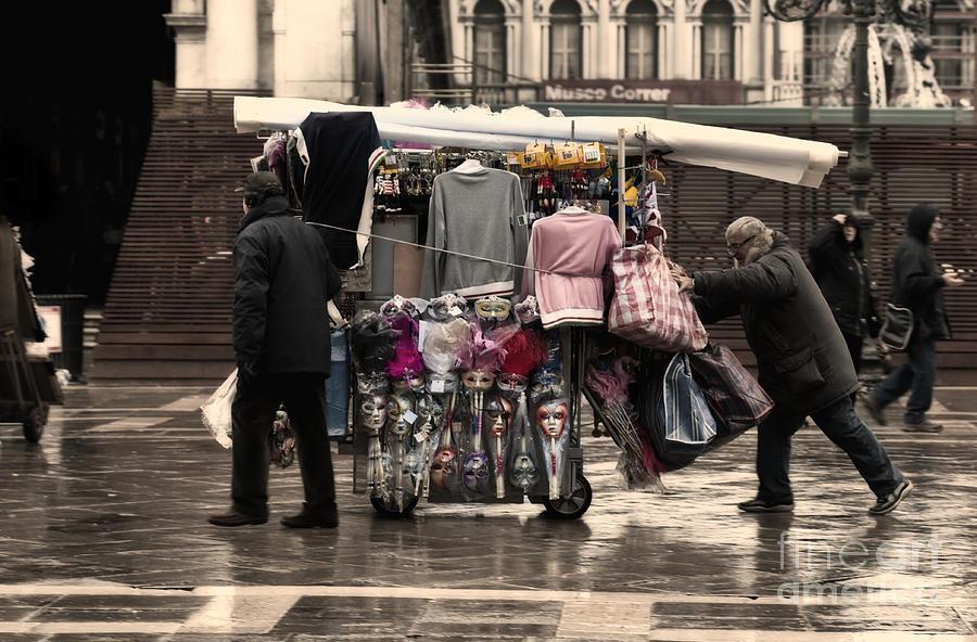Merchants In Venice 1 Photograph