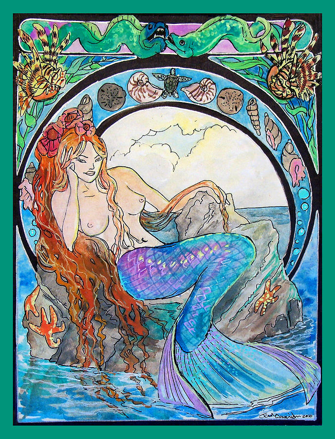 Mermaid Song Painting