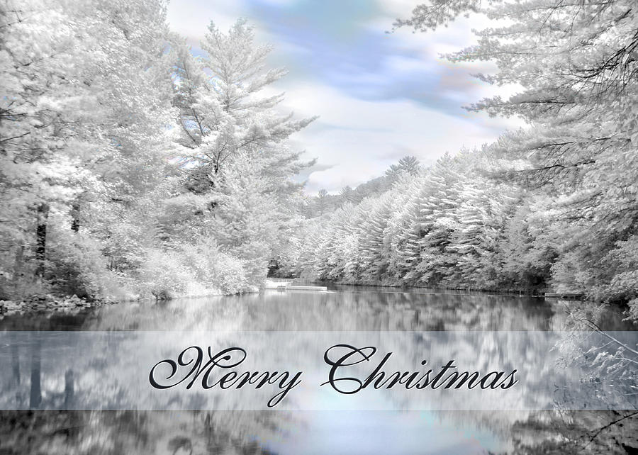 Merry Christmas - Lykens Reservoir Photograph  - Merry Christmas - Lykens Reservoir Fine Art Print