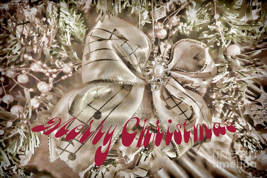 Merry Christmas Photograph  - Merry Christmas Fine Art Print