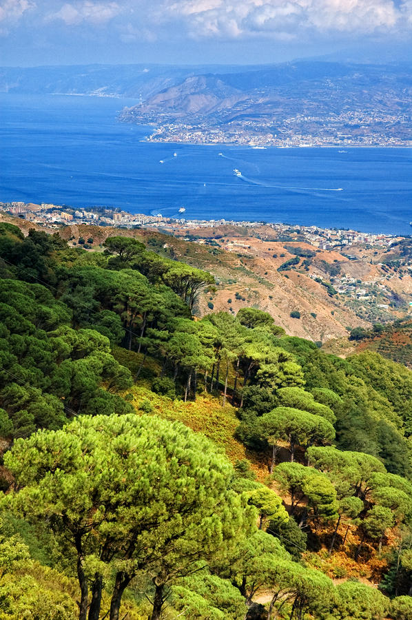 Messina Strait - Italy Photograph  - Messina Strait - Italy Fine Art Print