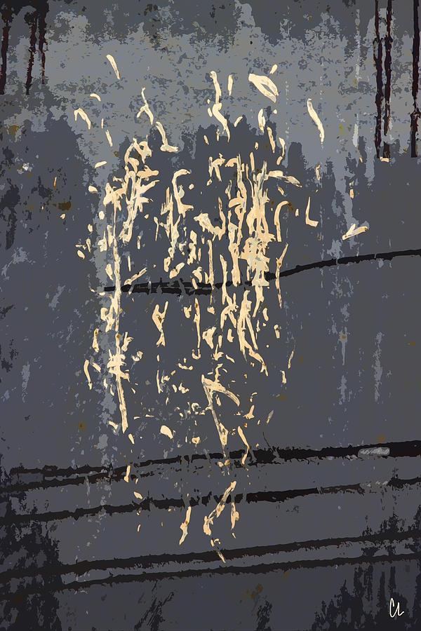 Metal Calligraphy Photograph