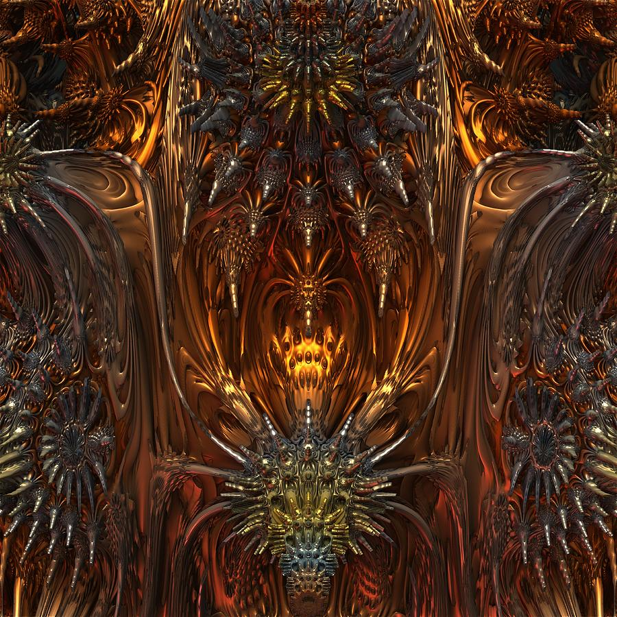 Metal Dragons Digital Art