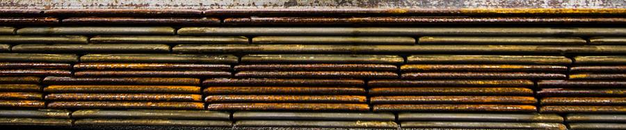 Design Photograph - Metal Stripe  by Jean Noren