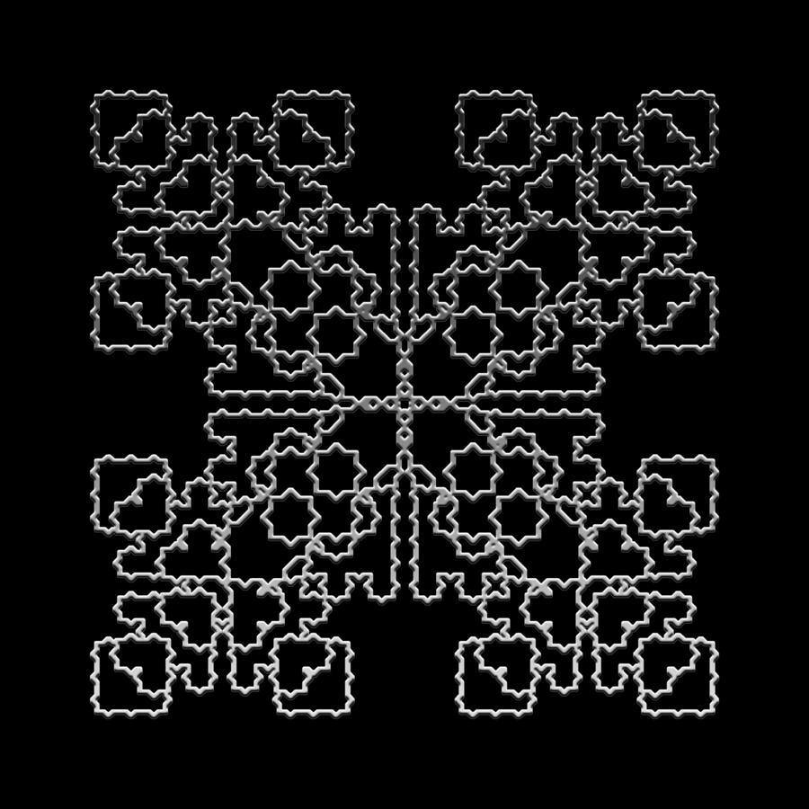 Metallic Lace Av Digital Art