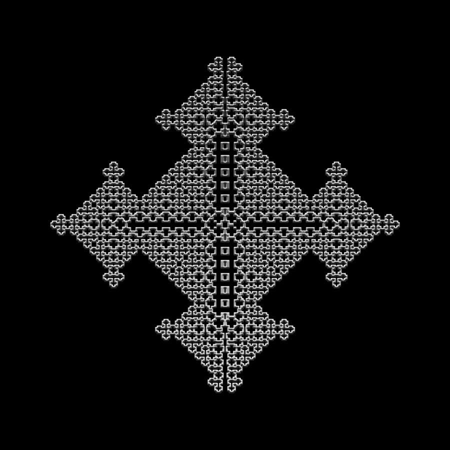 Metallic Lace Bix Digital Art