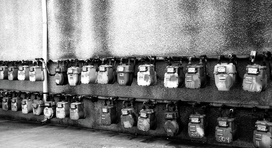Meter Machines Photograph  - Meter Machines Fine Art Print