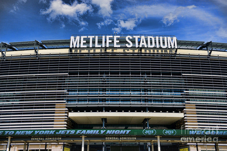 Metlife Stadium Photograph - Metlife Stadium by Paul Ward