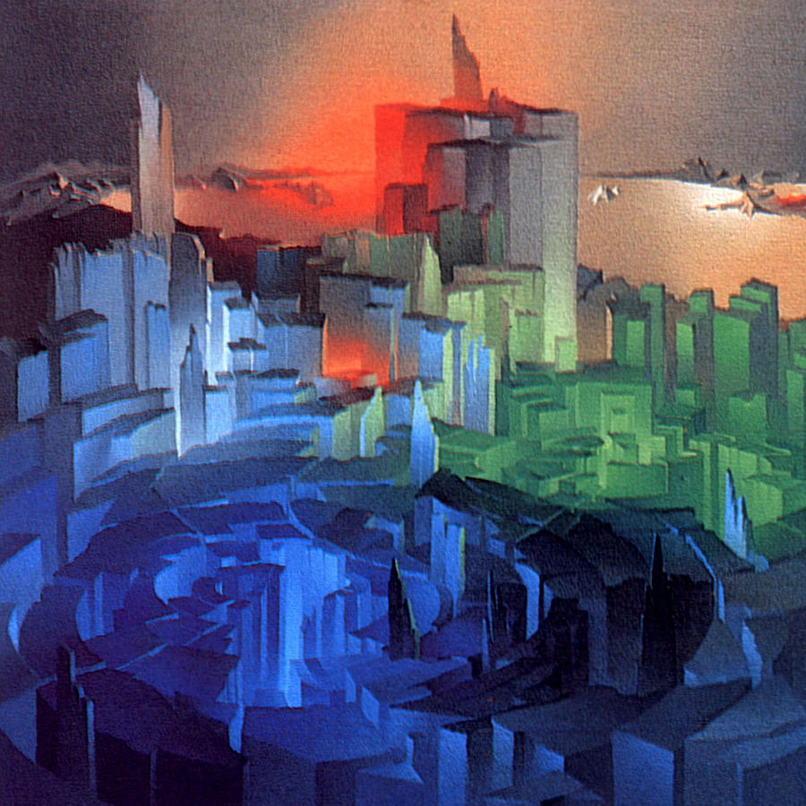 Metropolis 1975 Painting