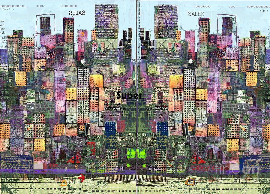 Metropolis Vi Digital Art