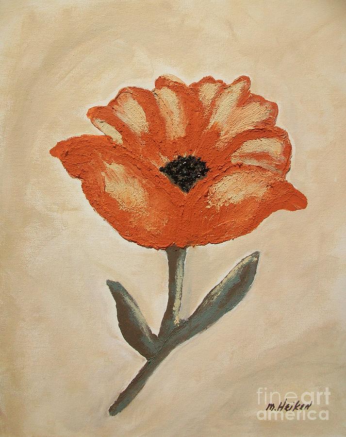 Mexican Flower by Marsha Heiken