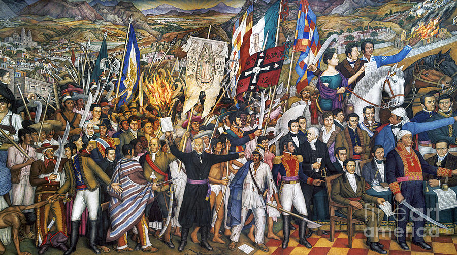 Mexico: 1810 Revolution Photograph  - Mexico: 1810 Revolution Fine Art Print