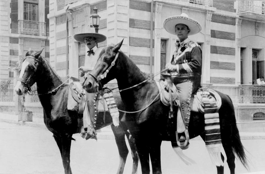 Mexico, Men Wearing Charro Costumes Photograph  - Mexico, Men Wearing Charro Costumes Fine Art Print