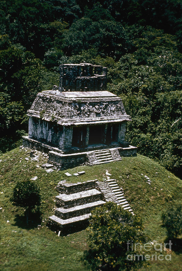Mexico: Palenque Photograph  - Mexico: Palenque Fine Art Print
