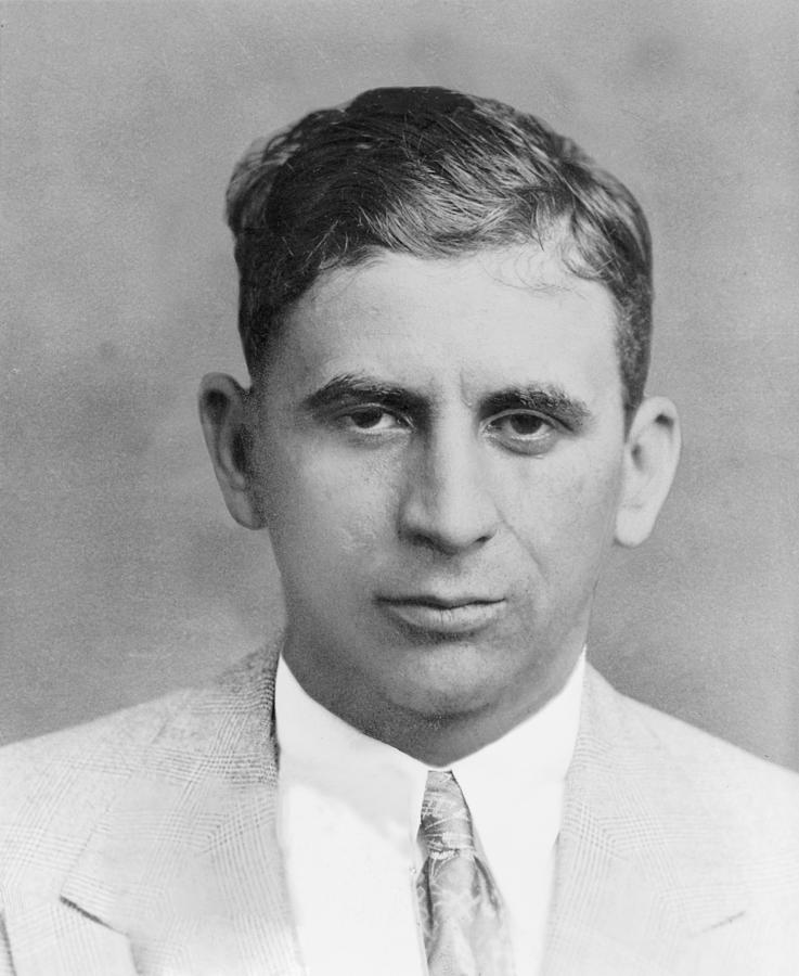Meyer Lansky 1902-1983, In 1949 Photograph  - Meyer Lansky 1902-1983, In 1949 Fine Art Print