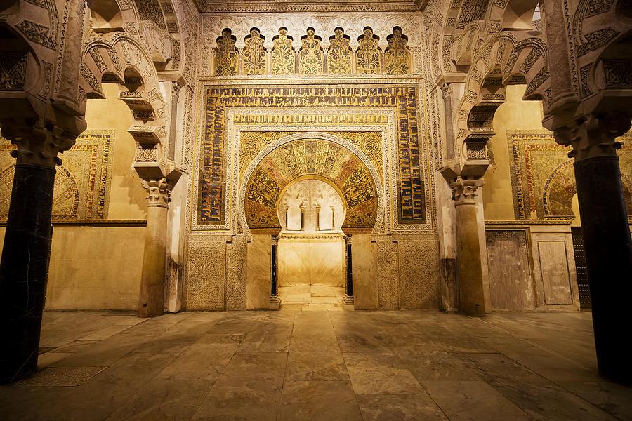 Mezquita Mihrab In Cordoba Photograph