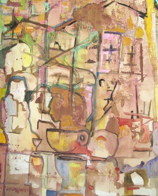 Mezzo Four Painting