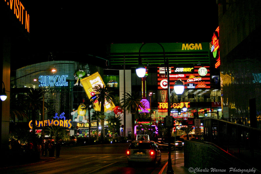 Las Vegas Photograph - MGM by Charles Warren