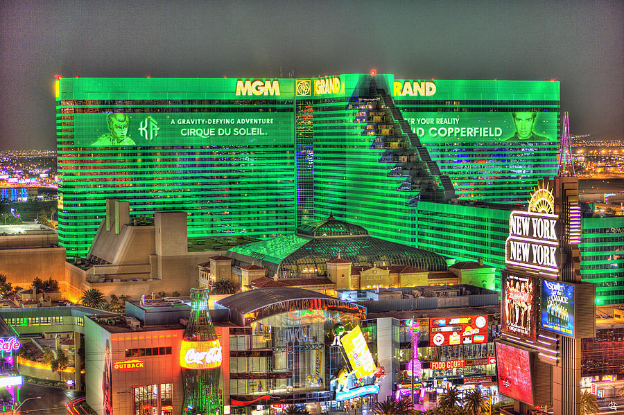 Mgm Grand Las Vegas Photograph