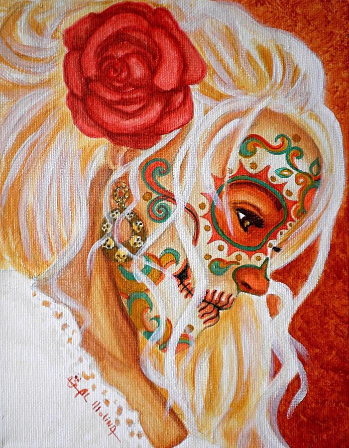 Mi Mente Me Lleva De Nuevo A Usted  Painting