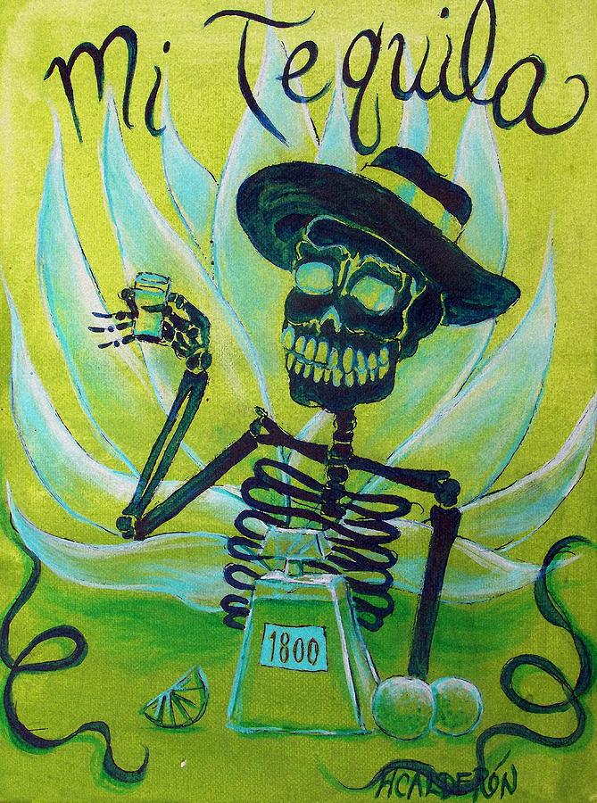 Mi Tequila Painting