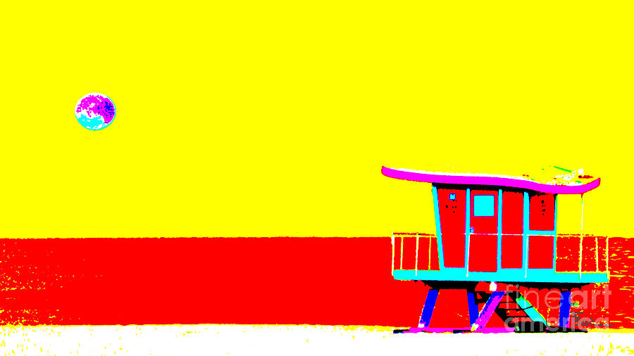 Miami Beach Pop Art I by Frank Boellmann